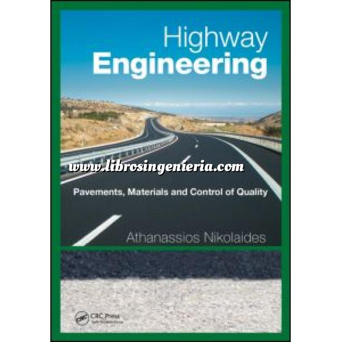 Imagen Carreteras Highway Engineering Pavements, Materials and Control of Quality