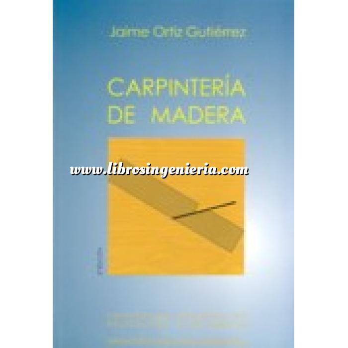Libros Ingenier A Tienda Online Materiales Madera