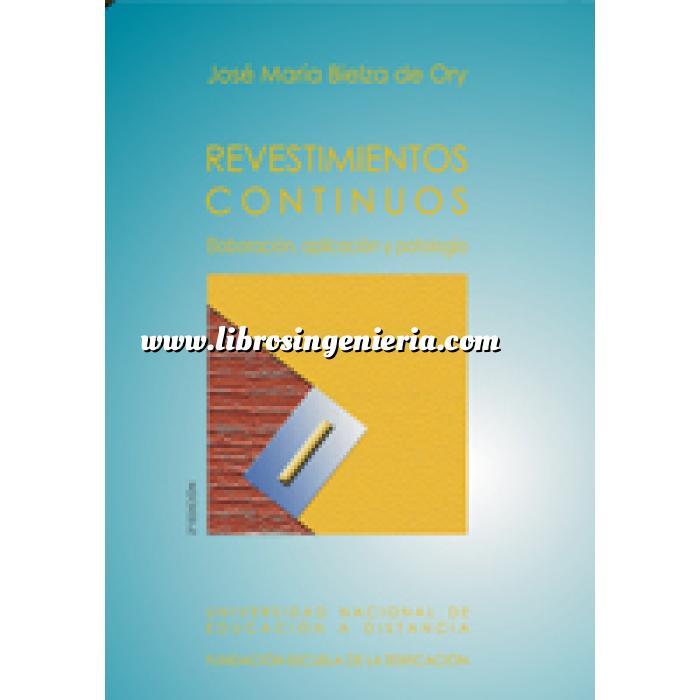 Libros ingenier a tienda online construcci n pinturas y revestimientos revestimientos - Pinturas y revestimientos ...