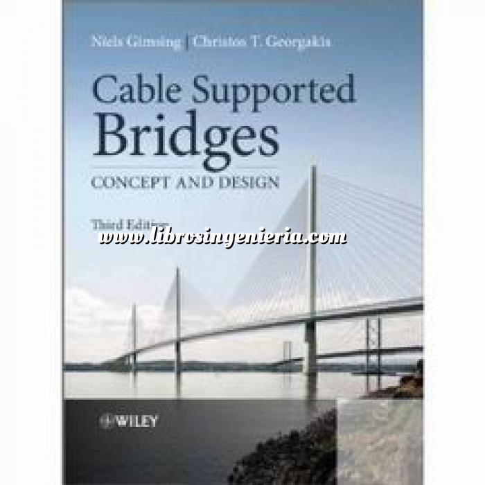 Imagen Puentes y pasarelas Cable supported bridges. concept and design